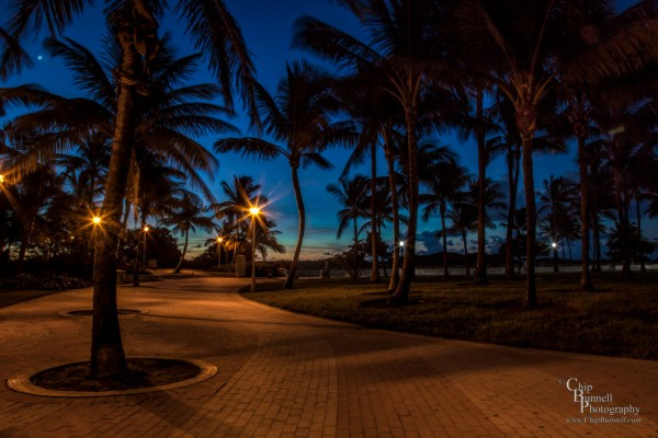 Sunrise on SoBe by Chip Bunnell Photography