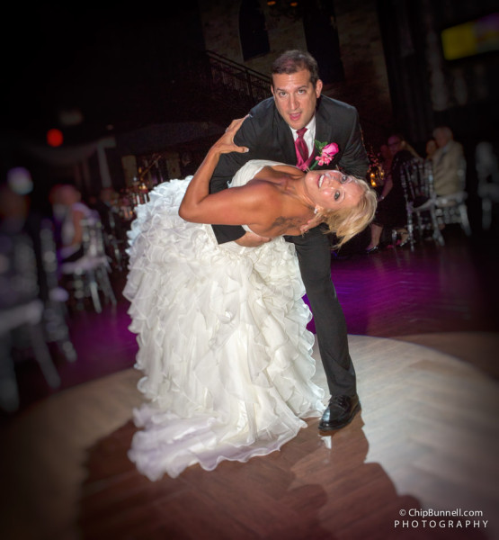 Rob-Dana Wedding Dancing Dip by Chip Bunnell Photography