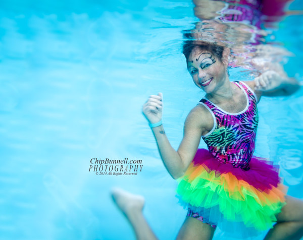Circus Goes Underwater - Chip Bunnell Photography