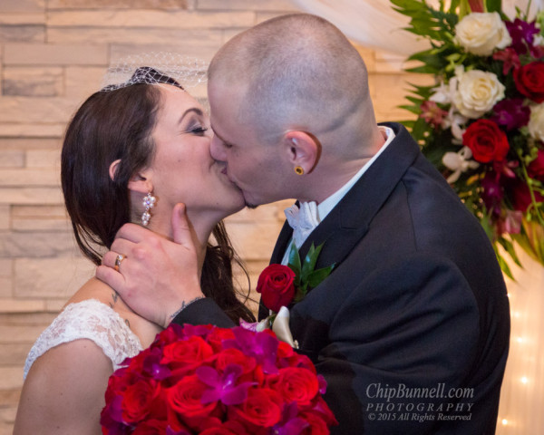 Their Kiss by Chip Bunnell Photography
