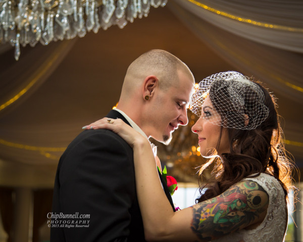 Quiet Wedding Moment by Chip Bunnell Photography