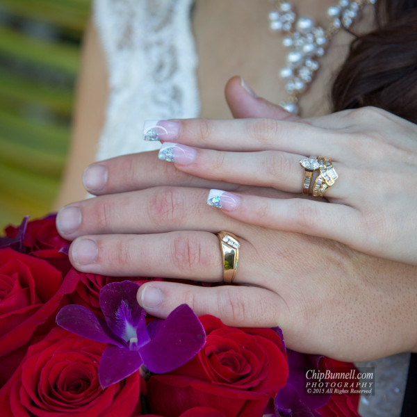 Julia and Troy Wedding Rings by Chip Bunnell Photography