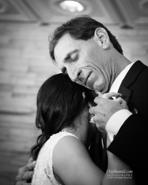 Julia and Father Dance by Chip Bunnell Photography