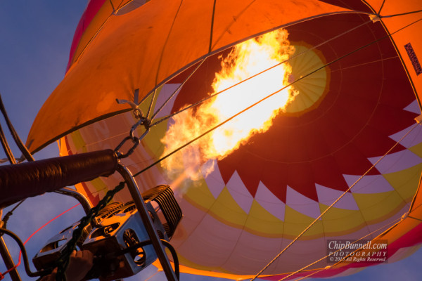 Sunrise Flame by Chip Bunnell Photography