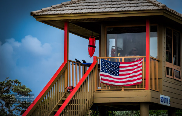 Beachside American Pride by Chip Bunnell Photography