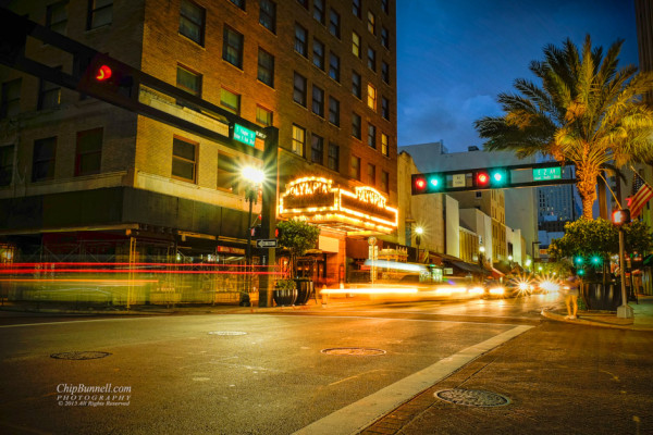 Blue Hour at the Olympia by Chip Bunnell Photography